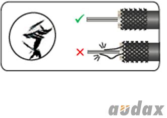 Zwrotnice 404010, 404110 - zalecenia odnośnie montażu