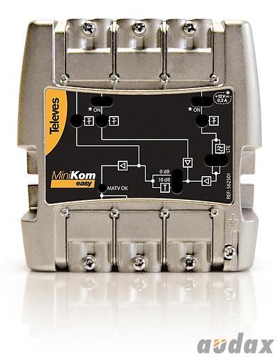 Image: Wzmacniacz dla niewielkich instalacji w pensjonatach/hotelach